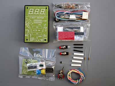 RPM counter kit contents