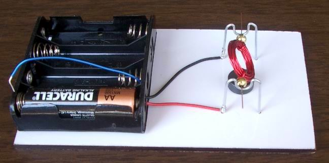 Conventional motor with 1 magnet
