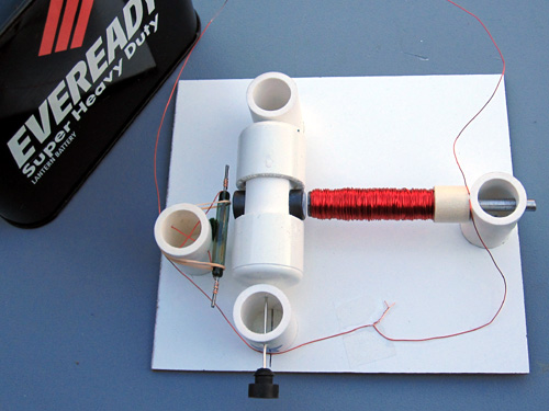 Motor, assembled from Kit #1