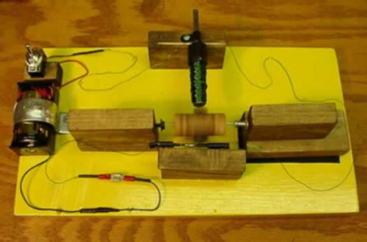 A Simple Dc Motor Diy Crafts